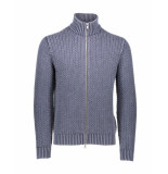 Circolo 1901 Vest giacca zip grey grijs