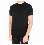 Dsquared2 2 round neck t-shirt zwart