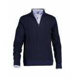 State of Art – trui – pullover sportzlp plain blauw