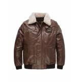 PME Legend Pme legend – jas – bomber jacket hudson d.brown bruin