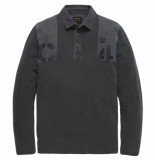 PME Legend – long sleeve polo rugged pique