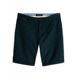 Scotch & Soda Allover printed chino short blauw