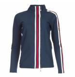 Par 69 Borg jacket blauw