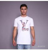 Radical Rocco gun t-shirt - wit