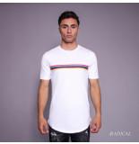 Radical Lucio rainbow t-shirt - wit