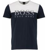 Hugo Boss Tee 5 10195586 01 50379159/410 blauw