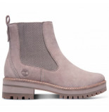Timberland Women courmayeur valley chelsea taupe gray grijs