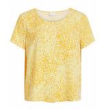 VILA Blouse 14049949 ia geel