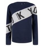 Indian Blue Sweatshirt ibb29-4536 blauw
