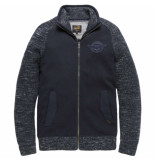 PME Legend Zip jacket cotton wool mix salute blauw