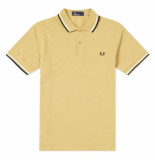 Fred Perry Twin tipped polo sand beige