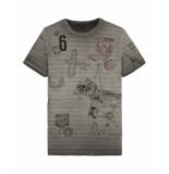 PME Legend T-shirt ptss195552 grijs