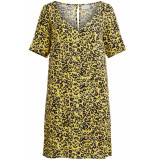 VILA Vimitzy choisa 2/4 sleeve dress/l 155321 goldfinch/choisa geel