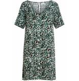 VILA Vimitzy choisa 2/4 sleeve dress/l 14055321 cloud dancer/choisa wit
