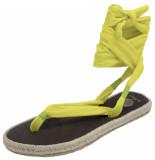 Nalho Dames sandalen geel