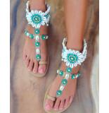Hot Lava Dames sandalen blauw