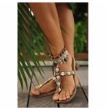 Hot Lava Dames sandalen beige