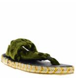 Nalho Dames sandalen groen blauw