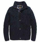 PME Legend Button jacket monary salute blauw