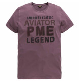 PME Legend Short sleeve r-neck play jersey winetasting rood