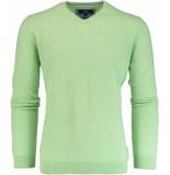 Basefield V-hals pullover 219012598/505 groen