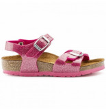 Birkenstock Sandaal rio bf magic galaxy pink kids