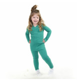 Reinders Twin set sweater kids groen