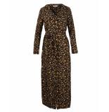 Freebird Jurk vikas leopard zwart