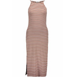 Pieces Pcelena strap midi dress 17097465 bright white/redwood/ni