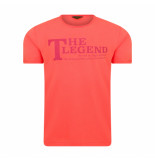 PME Legend Single jersey coral rood