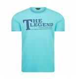 PME Legend Single jersey turqoise blauw