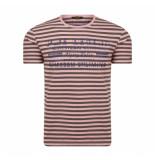 PME Legend Woodrose striped jersey rood