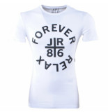 Just Relax Heren tshirt ronde hals forever slim fit wit