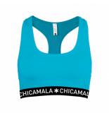 Muchachomalo Girls racer back solid groen