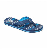 Reef Slipper boys kids ahi water blue blauw