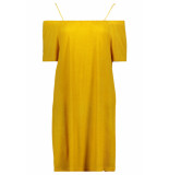 Noisy may Nmkaro s/s dress 4h 27007057 golden rod geel