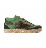Melik Heren sneakers /bruin groen