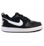 Nike Sneakers court borough low zwart