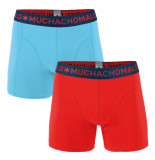 Muchachomalo Men 2-pack short solid/solid grijs