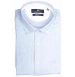 Basefield Korte mouw overhemd 219013987/610 blauw