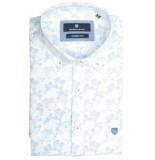 Basefield Korte mouw overhemd 219014325/602 blauw