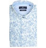 Basefield Korte mouw overhemd 219014335/601 licht blauw