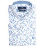 Basefield Korte mouw overhemd 219014355/100 wit