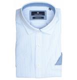 Basefield Korte mouw overhemd 219014381/611 licht blauw