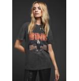 Anine Bing T-shirt vintage bing zwart