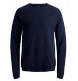 Jack & Jones Pullover 12157321 jjehill blauw