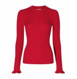 Fabienne Chapot Pullover sanne rood