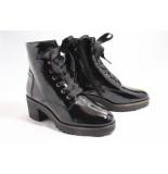 DL Sport 4536 biker boots zwart
