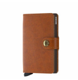 SECRID Mo miniwallet original cognac brown bruin