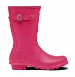 Hunter Regenlaars original short bright pink roze